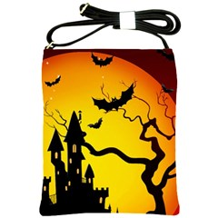 Halloween Night Terrors Shoulder Sling Bags by BangZart