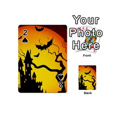 Halloween Night Terrors Playing Cards 54 (mini)  by BangZart