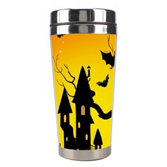 Halloween Night Terrors Stainless Steel Travel Tumblers by BangZart