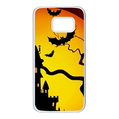 Halloween Night Terrors Samsung Galaxy S7 White Seamless Case