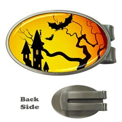Halloween Night Terrors Money Clips (oval)  by BangZart