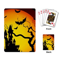 Halloween Night Terrors Playing Card