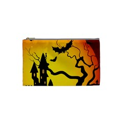 Halloween Night Terrors Cosmetic Bag (small)  by BangZart