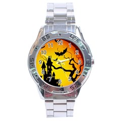 Halloween Night Terrors Stainless Steel Analogue Watch by BangZart