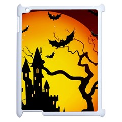 Halloween Night Terrors Apple Ipad 2 Case (white) by BangZart