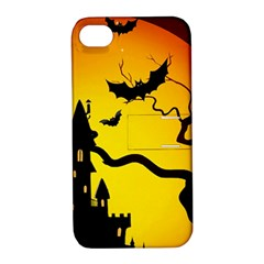 Halloween Night Terrors Apple Iphone 4/4s Hardshell Case With Stand by BangZart
