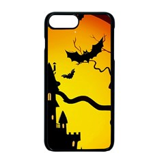 Halloween Night Terrors Apple Iphone 7 Plus Seamless Case (black)