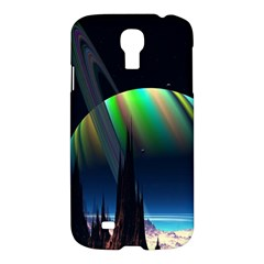 Planets In Space Stars Samsung Galaxy S4 I9500/i9505 Hardshell Case by BangZart