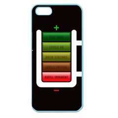 Black Energy Battery Life Apple Seamless Iphone 5 Case (color)