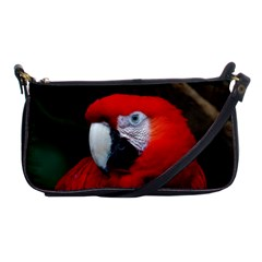 Scarlet Macaw Bird Shoulder Clutch Bags