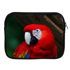 Scarlet Macaw Bird Apple Ipad 2/3/4 Zipper Cases