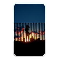 Art Sunset Anime Afternoon Memory Card Reader