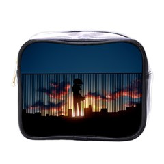 Art Sunset Anime Afternoon Mini Toiletries Bags by BangZart