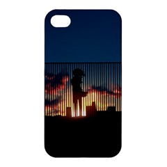 Art Sunset Anime Afternoon Apple Iphone 4/4s Hardshell Case