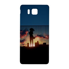 Art Sunset Anime Afternoon Samsung Galaxy Alpha Hardshell Back Case
