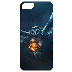 Owl And Fire Ball Apple Iphone 5 Classic Hardshell Case