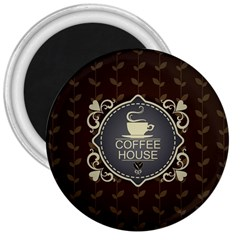 Coffee House 3  Magnets by BangZart