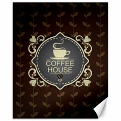 Coffee House Canvas 16  X 20