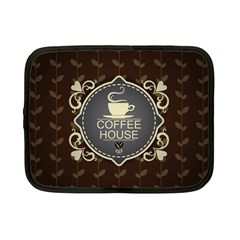 Coffee House Netbook Case (small)  by BangZart