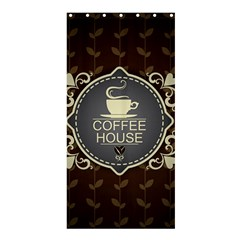 Coffee House Shower Curtain 36  X 72  (stall)  by BangZart