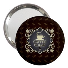 Coffee House 3  Handbag Mirrors by BangZart