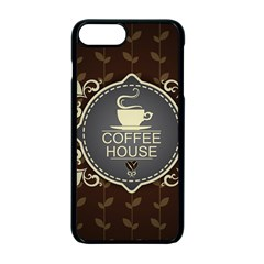 Coffee House Apple Iphone 7 Plus Seamless Case (black)