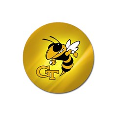 Georgia Institute Of Technology Ga Tech Magnet 3  (round)