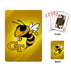 Georgia Institute Of Technology Ga Tech Playing Card by BangZart