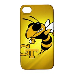 Georgia Institute Of Technology Ga Tech Apple Iphone 4/4s Hardshell Case With Stand by BangZart