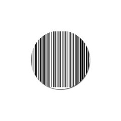 Barcode Pattern Golf Ball Marker by BangZart