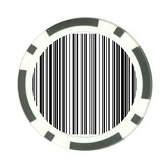 Barcode Pattern Poker Chip Card Guard (10 Pack)