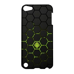 Green Android Honeycomb Gree Apple Ipod Touch 5 Hardshell Case