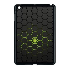 Green Android Honeycomb Gree Apple Ipad Mini Case (black)