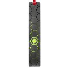 Green Android Honeycomb Gree Large Book Marks