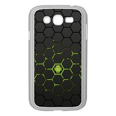 Green Android Honeycomb Gree Samsung Galaxy Grand Duos I9082 Case (white) by BangZart