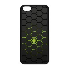 Green Android Honeycomb Gree Apple Iphone 5c Seamless Case (black)