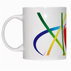 Love White Mugs