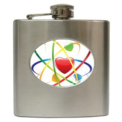 Love Hip Flask (6 Oz) by BangZart