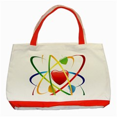 Love Classic Tote Bag (red) by BangZart