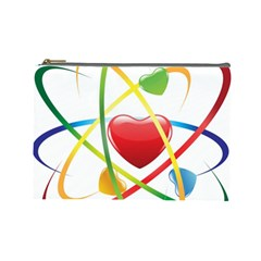 Love Cosmetic Bag (large)  by BangZart