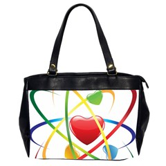 Love Office Handbags (2 Sides)  by BangZart