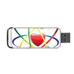 Love Portable Usb Flash (one Side)
