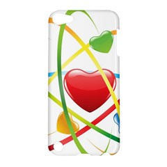 Love Apple Ipod Touch 5 Hardshell Case by BangZart