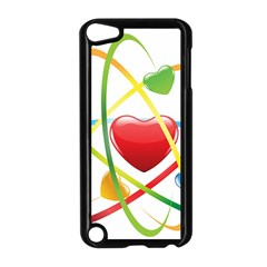 Love Apple Ipod Touch 5 Case (black)