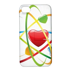 Love Apple Iphone 4/4s Hardshell Case With Stand by BangZart