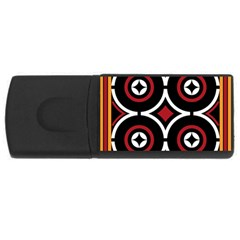 Toraja Pattern Ne limbongan Rectangular Usb Flash Drive