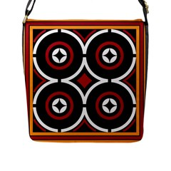 Toraja Pattern Ne limbongan Flap Messenger Bag (l)  by BangZart