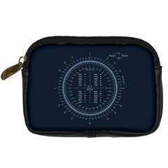 Minimalistic Knowledge Mathematics Trigonometry Digital Camera Cases