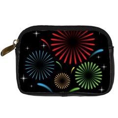 Fireworks With Star Vector Digital Camera Cases