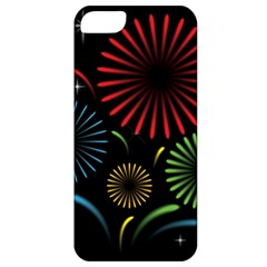 Fireworks With Star Vector Apple Iphone 5 Classic Hardshell Case